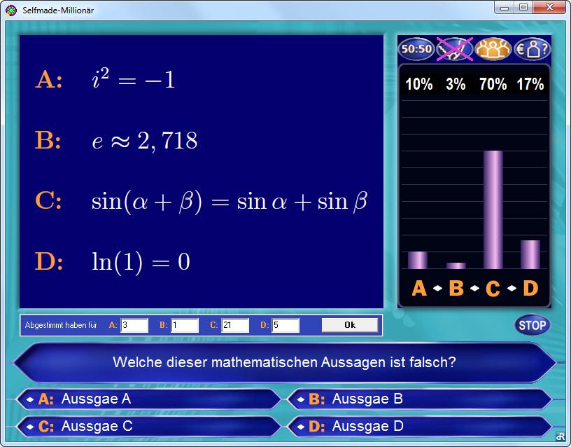 Wer Wird Millionar Powerpoint Quiz Vorlage Slidelizard 8 10